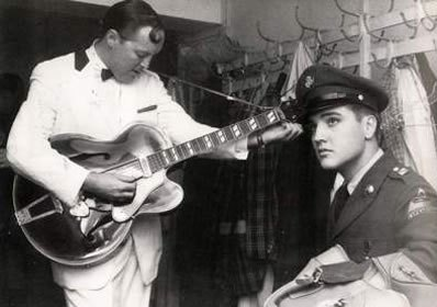 Bill Haley & Elvis '58